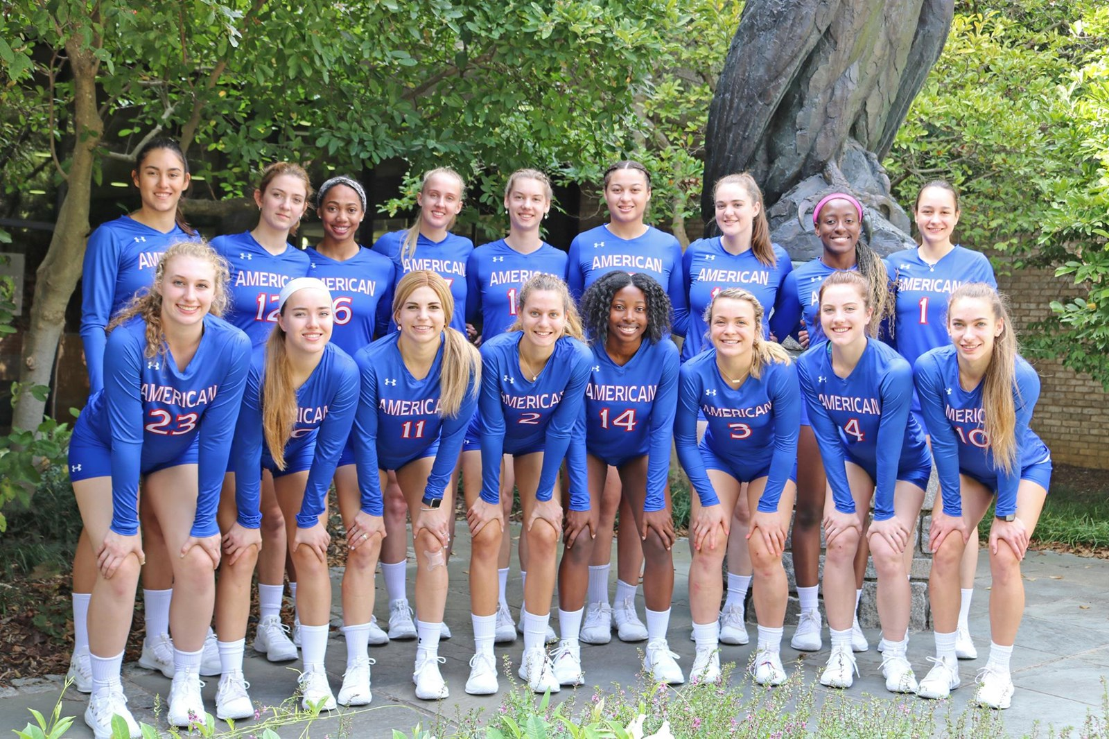 2019 Women S Volleyball Roster American University