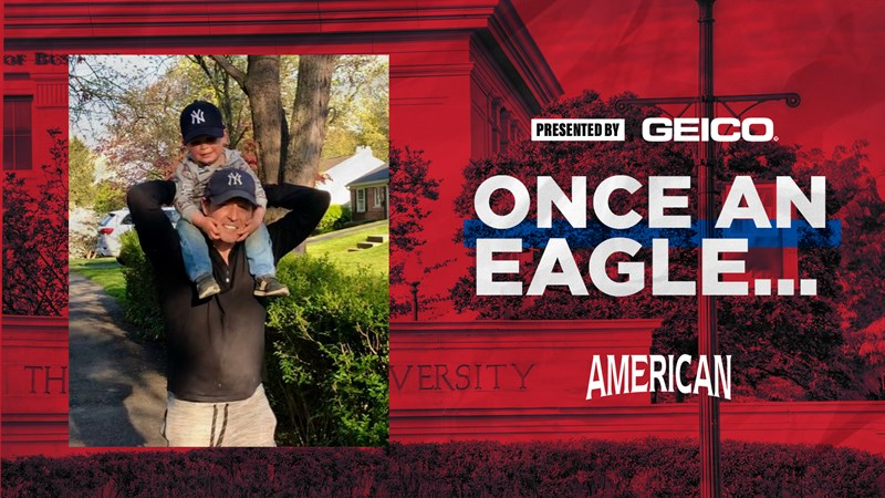 Once an Eagle with Men's Cross Country and Track's Brian McCabe - American University